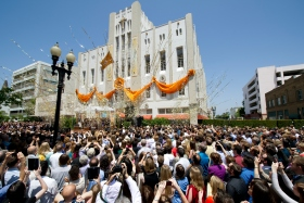 On Saturday, June2, more than 5,000 Scientologists and guests celebrated the grand opening of the Church of Scientology of Orange County. The Church stands at 505 North Sycamore Street just steps from the birthplace of the city of Santa Ana.